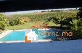 Villa avec piscine de 2000m² en location à Souissi